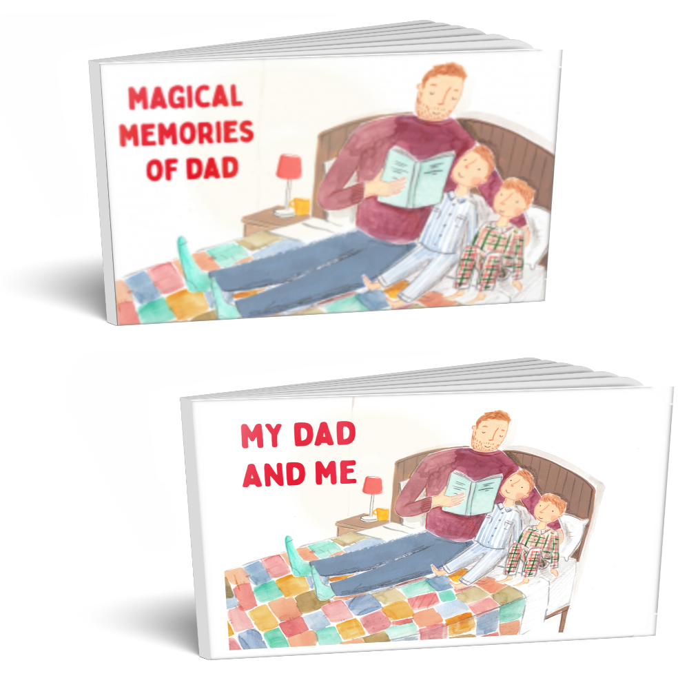 Magical Memories of Dad - a nonprofit charity book on grief awareness for children