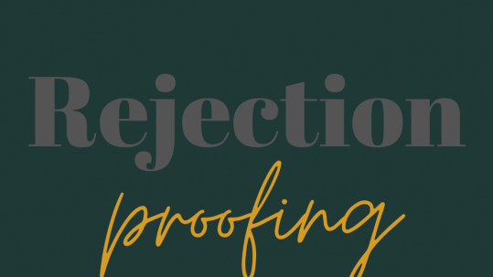 Facing rejection: how to keep writing
