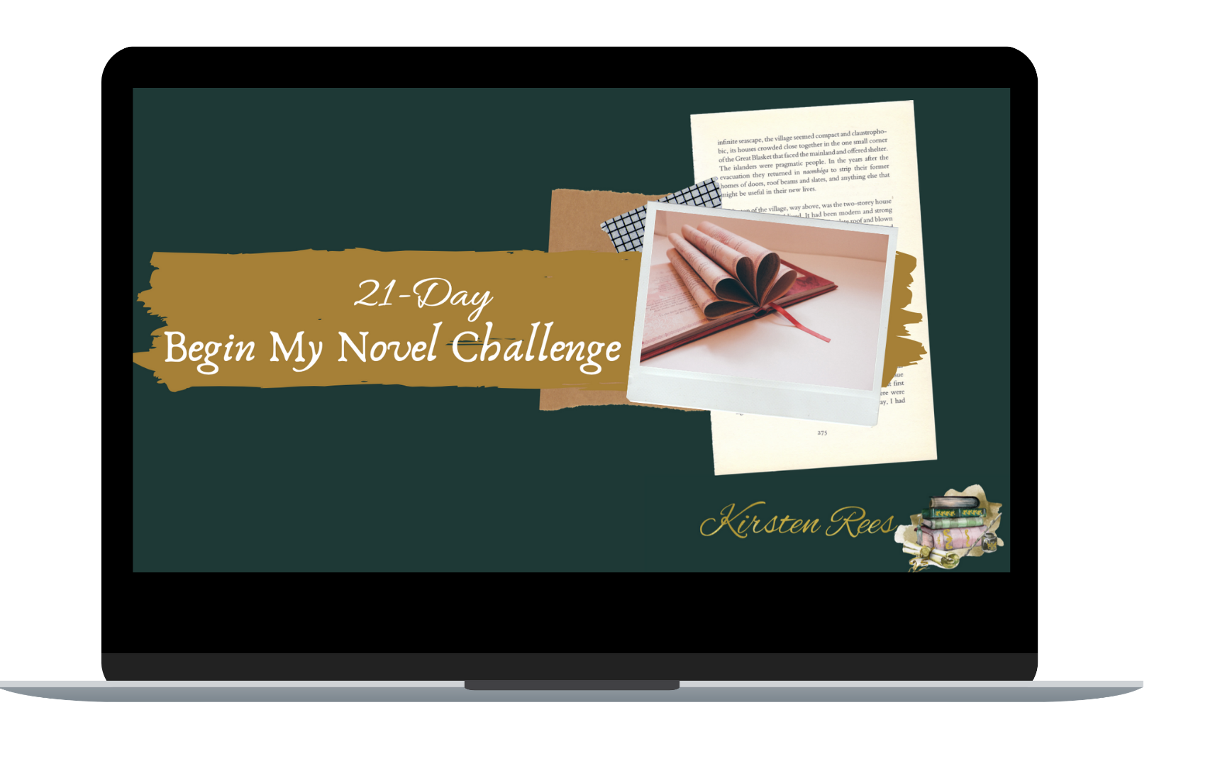 How to write my first novel - author challenge